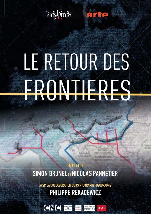 """affiche du documentaire """"LE RETOUR DES FRONTIERES"""""""