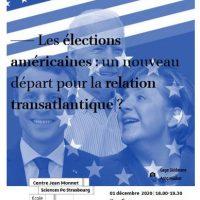 Webinaire : «Les élections américaines : un nouveau départ pour la relation transatlantique ?»