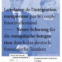 Webinaire : La relance de l'intégration européenne par le couple franco-allemand