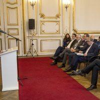 Inauguration du Centre d'excellence Jean Monnet  Strasbourg