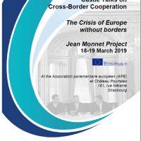 Forum sur la coopération transfrontalière 18-19 Mars 2019
